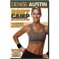 Review of Denise Austin's captioned DVD workout, Boot Camp Total Body Blast!
